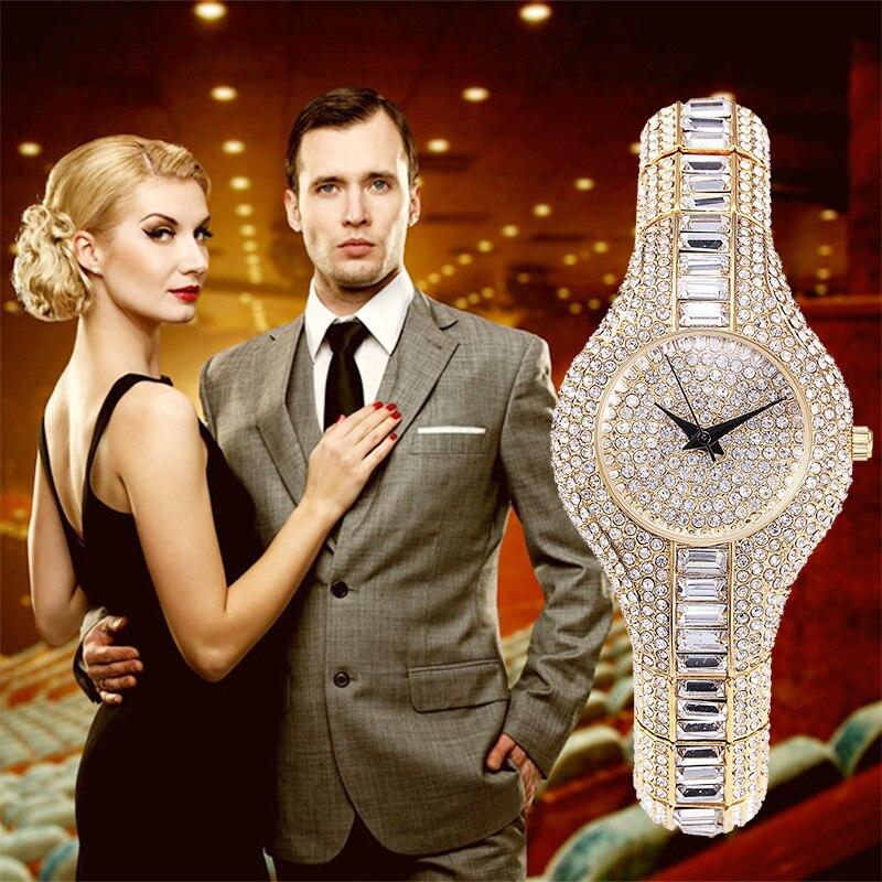 Miss Fox Oostenrijk Crystal dameshorloges luxe dames gouden horloge - Dameshorloges - Foto 6
