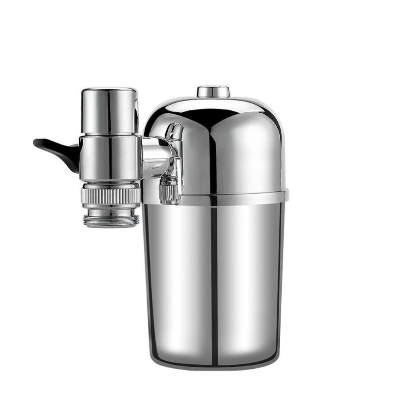 Tap Water Purifier Kitchen Faucet Washable Stainless steel filter Household Water Purification Carbon Remove Water Tap kitchen faucets tap water filter household water purifier washable ceramic percolator mini water purification
