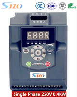 Оригинальный SIZO простой преобразователь частоты 0.4KW 220 В 1 фаза Вход охраны окружающей среды точность преобразователь частоты VFD