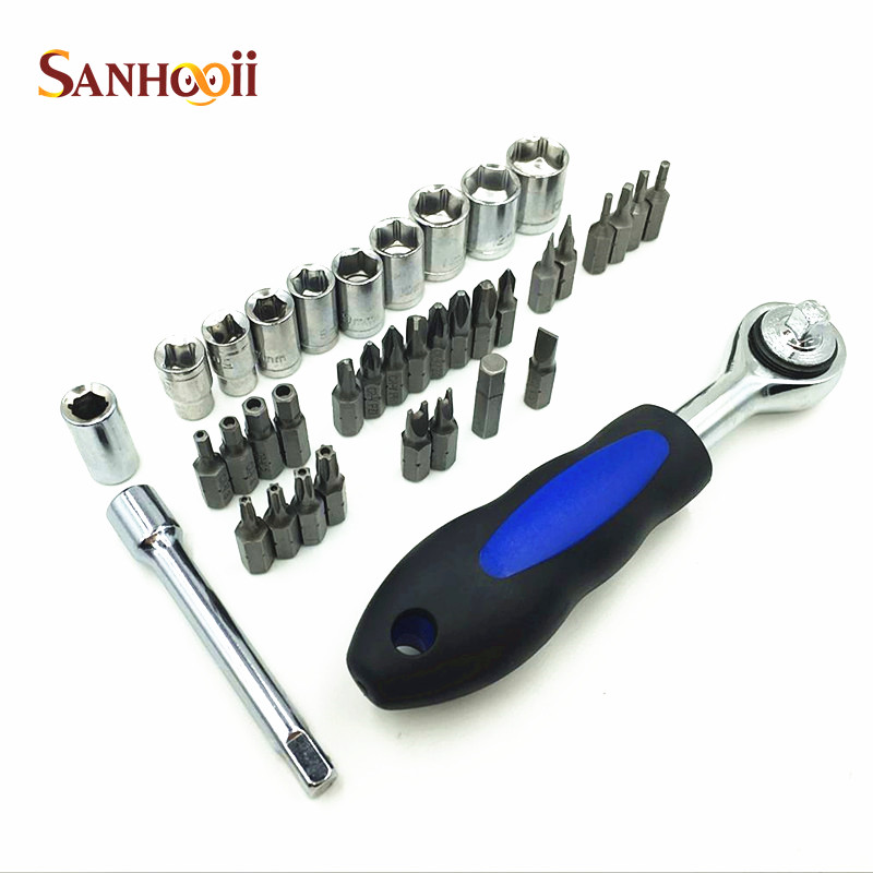 38in1 precision screwdriver set 1 4 shank screw bit set for household car repair tools set for. Black Bedroom Furniture Sets. Home Design Ideas