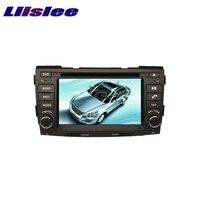 For HYUNDAI SONATA 2009 2010 LiisLee Car Multimedia TV DVD GPS Audio Hi Fi Radio Original