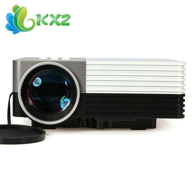 Gm50 80lm llevó la ayuda del proyector 1080 p hdmi vga av usb sd micro usb