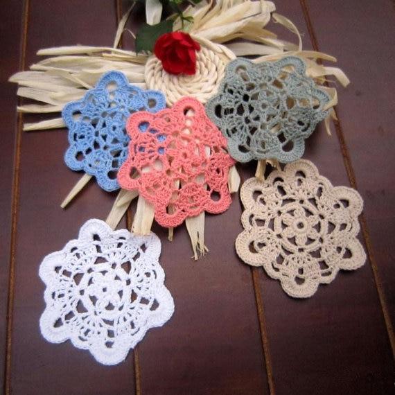 20 pz 10 cm centrini per deamcatcher handmade tabella mat coaster ...