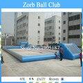 O Envio gratuito de 0.55mm PVC Campo de Futebol Inflável Campo de Futebol Inflável Para Venda