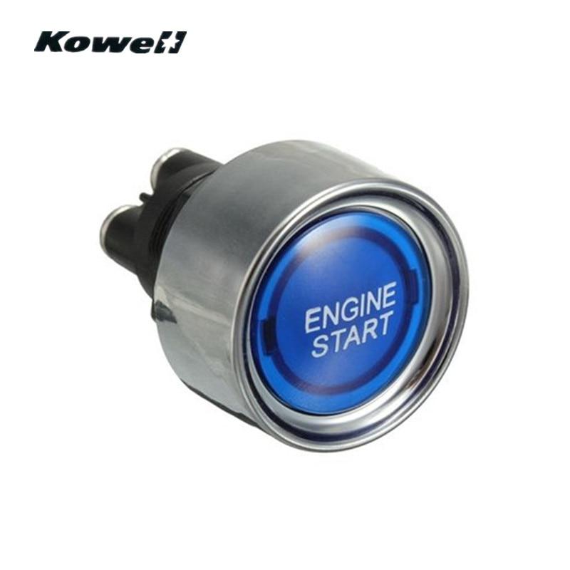 KOWELL Universele Blauwe Led verlichting Motor Auto Verlichte ...