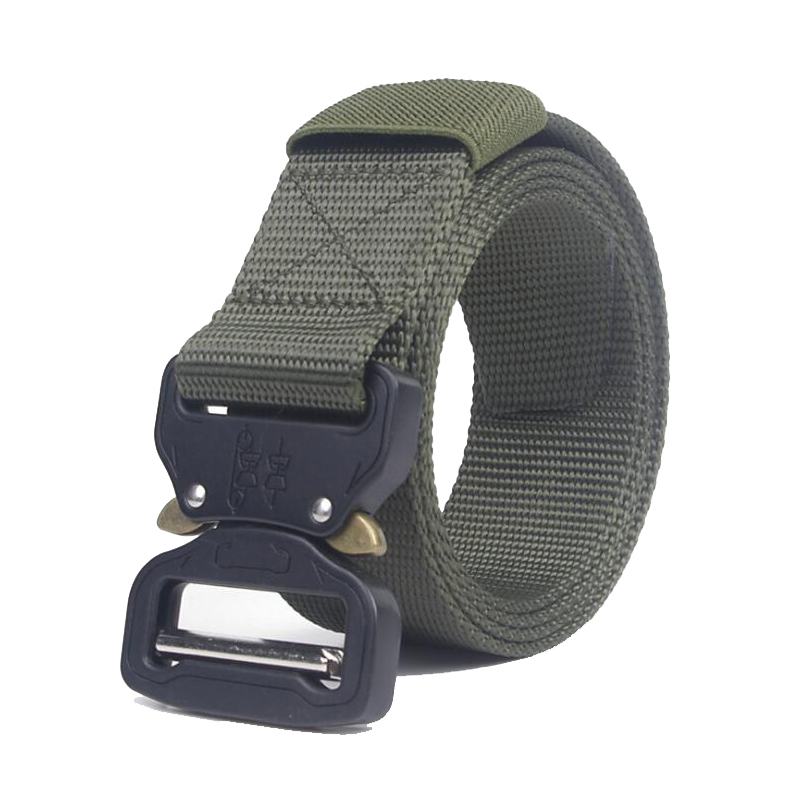 Adjustable Tactical Belt Sport Accessories Waist Protector Quick Released Army Combat  Military Belt Hunting Gear Waistband