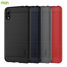 For Huawei y7 pro 2019/Enjoy 9 Case Cover MOFI Fitted TPU Cases Enjoy Soft Back