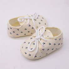 kawaii footprint print newborn baby shoes cute baby sandals sweet shoes for boys and girls casual baby slofjes 30ST26(China)