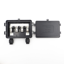 140 Вт-200 Вт Солнечная распределительная коробка водонепроницаемый IP67 для солнечной панели подключения PV распределительная коробка кабельного соединения с солнечной панелью с диодом