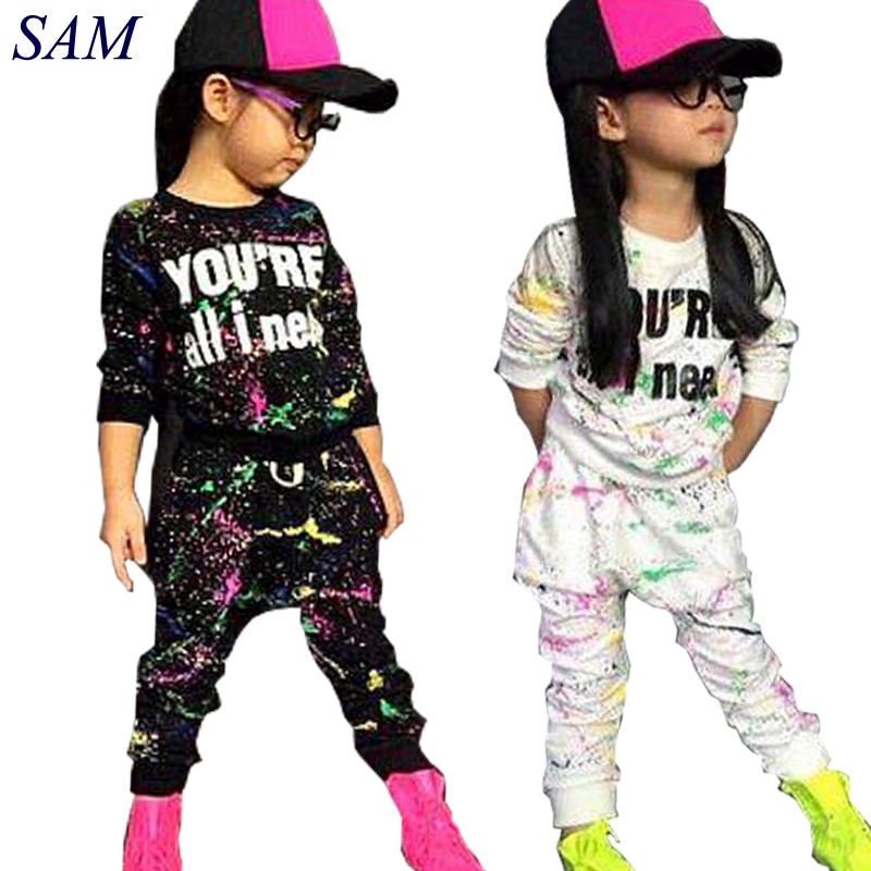 new fashion girls tracksuit baby kids sport clothes set coloful letter printed children suit clothing set for 2-7years old eaboutique new winter boys clothes sports suit fashion letter print cotton baby boy clothing set kids tracksuit