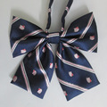 Japanese sailor suit bow tie | Hello Kitty bow tie | JK uniform bow tie | 2 Pcs / Lot