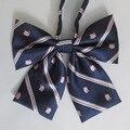 Traje marinero japonés pajarita | Hello Kitty pajarita | JK uniforme | 2 unids/lote