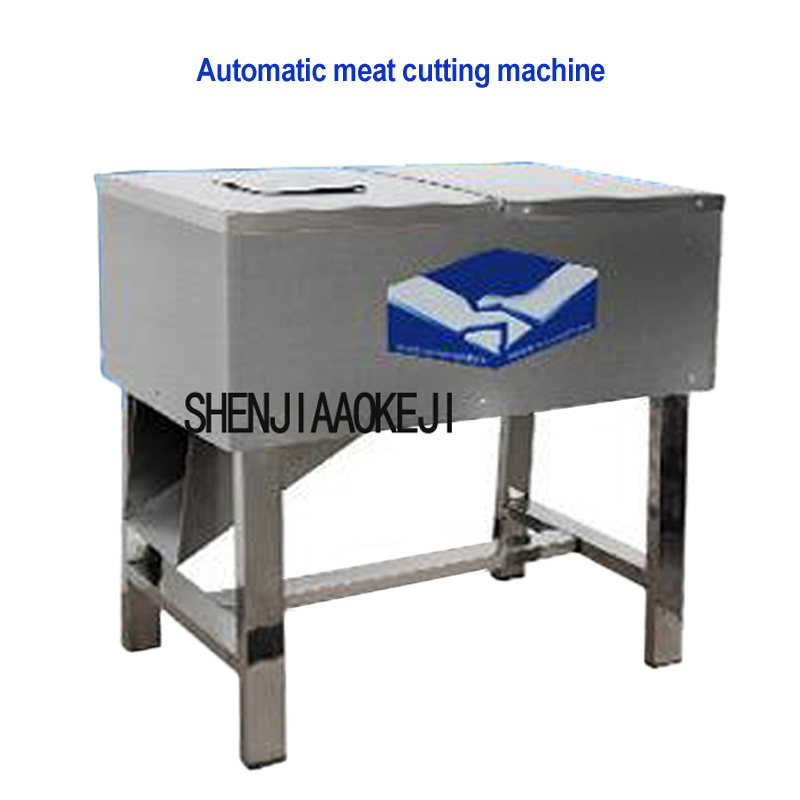 Automatic Meat Cutting Machine Double Hob With Multi-purpose Detachable Meat Grinder Stainless Steel Meat Slicer 220V 0.75KW 1pc