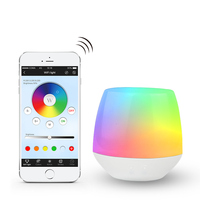 DC5V Milight Ibox1 Hub RF Remote wifi ler with RGB light 2.4G Wireless control for Milight LED bulbs support iOS Android APP