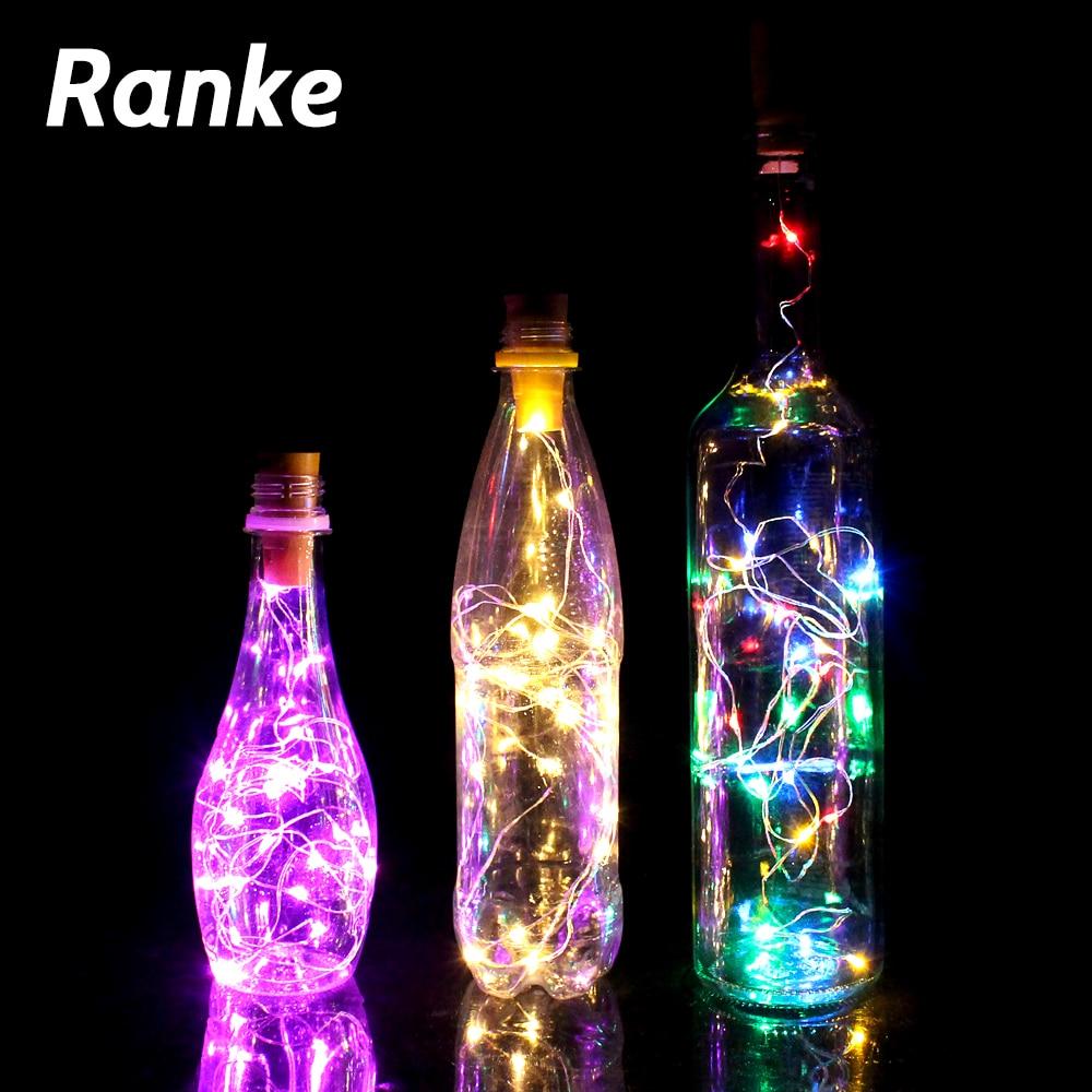 1PCS  Powered Bottle Lights 20 LED Waterproof Lights Decoration