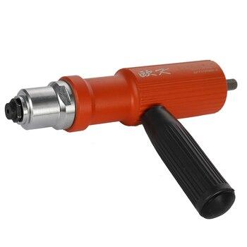 цена Electric Rivet Nut Gun Riveting Tool Cordless Riveting Drill Adaptor Insert Nut Tools Suitable 3.2-4.8mm Pull Riveting Machine онлайн в 2017 году