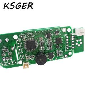 Image 5 - KSGER soldador eléctrico V2.01 STM32 OLED T12, Controlador de estación de soldadura de temperatura, T12 K T12 JL02 punta de pistola para soldar