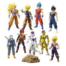 Dragon Ball Z Figure S.H. Figuarts Golden Frieza Final Form God Super Saiyan 3 Warrior Awakening Son Gohan Gokou Action Figure(China)