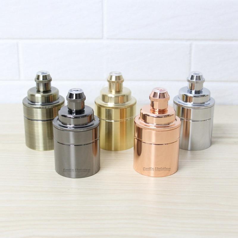 1Pcs/lot Brass Vintage Lampholder Brass lamp base E27 Edison Bulb base Retro light socket 1pcs lot ltc2642cms 16