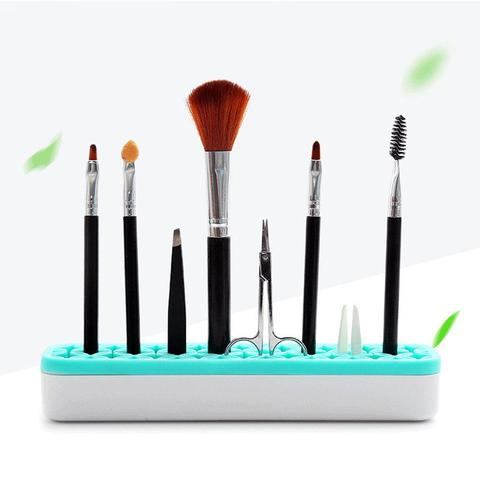 Pencil Stand Holder Makeup Brush Cosmetic Tools Shelf Storage Organizer Rack Makeup Brushes & Tools Makeup Tool Kits Selling Pakistan