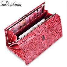 DICIHAYA Genuine Leather Women Wallet Luxury Brand Design Hi
