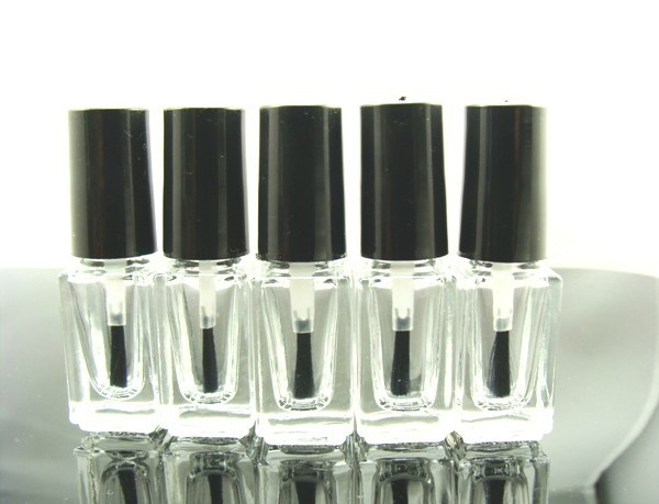 Capacity 3ml -4ml 25pcs/lot factory wholesale empty nail polish bottle bottles with white lid