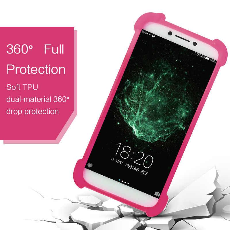 Nuu X4 Case Silicone Bumper Nuu A1 Plus A4L TPU Rubber Phone Case Nuu M2 M3  Back Cover for Nuu G3 Cases Cover Universal