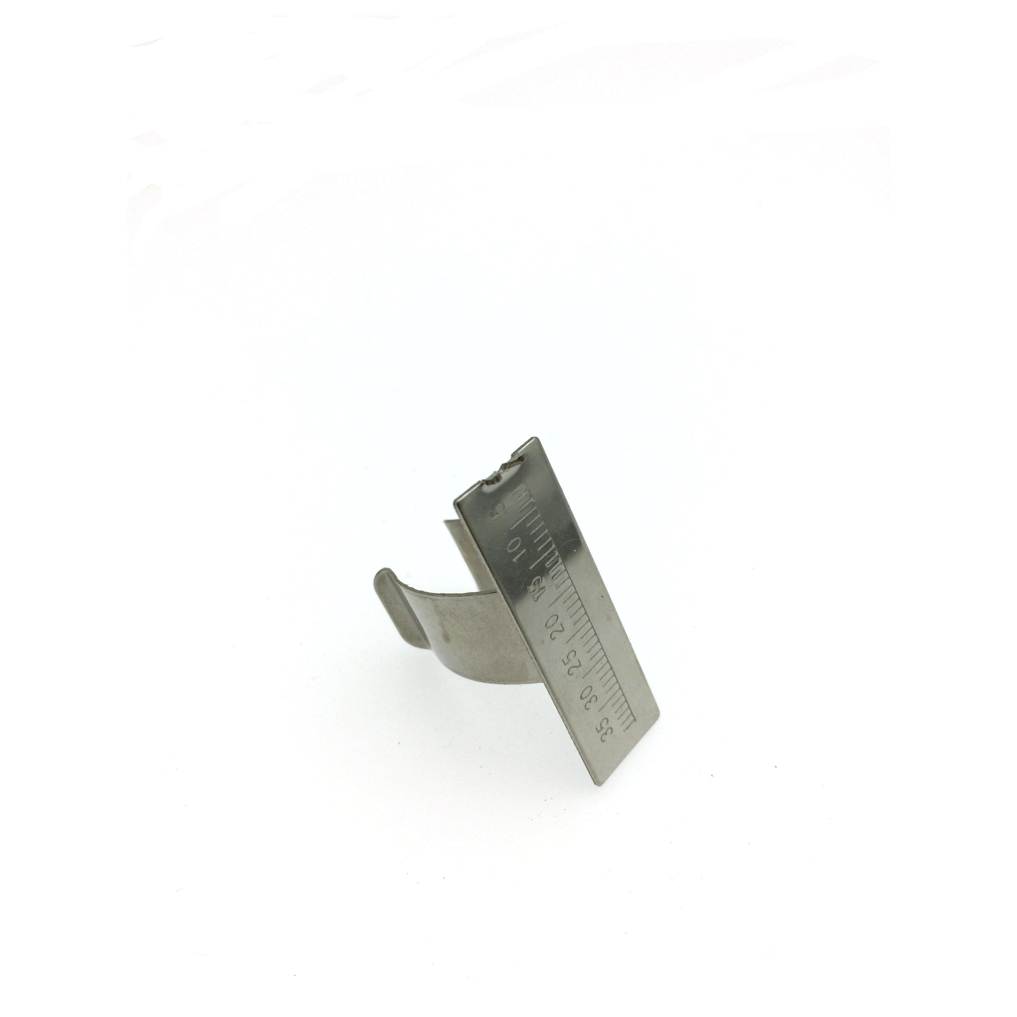1ks zubního rozpětí měříme měřítko endodontického nástroje prstu pravítka