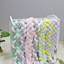 Мягкий бампер для детской кроватки, 2 м, 3 м
