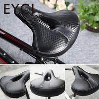 EYCI Bicicleta Sela Estrada de Montanha de Bicicleta Air Vent Design Suave Esponja Engrossar Grande Almofada do Assento de Bicicleta de Ciclismo Bicicleta Sela