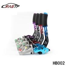 RASTP Универсальный Гоночный ручной тормоз автомобиля гидравлический дрейф ручного тормоза стояночный RS-HB002