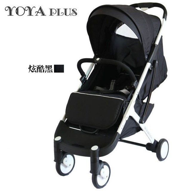Super light baby stroller 0-36 months baby use 175 degree newborn sleeping baby pram cart yoya plus stroller cart