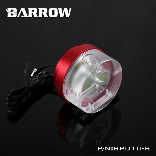 Barrow SPD10-S PWM speed control 10W water cooling pump cooling system water pump maximum flow 450L/H цены