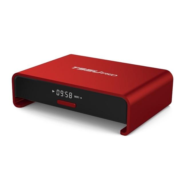 T95U PRO Cortex-A53 2 GB/16 GB Dual WiFi Banda KD VP9 H.265 UHD 4 K Jugador LAN Gigabit 1000 M Android 6.0 Smart TV Caja Amlogic S912