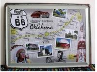 30X40 CM Ruta 66 Cartel de chapa de Pared Decoración de La Mezcla de Café Tienda Letrero De Metal Vintage Poster Retro placa \ Placa