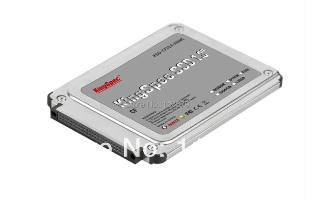 Kingspec SSD 1.8 ''IDE Flash SSD 128 ГБ IDE 50PIN CF (KSD-CF18.6-128MS) ПОДХОДИТ ДЛЯ SONY U8C TOSHIBA R100 R200 DELL X1