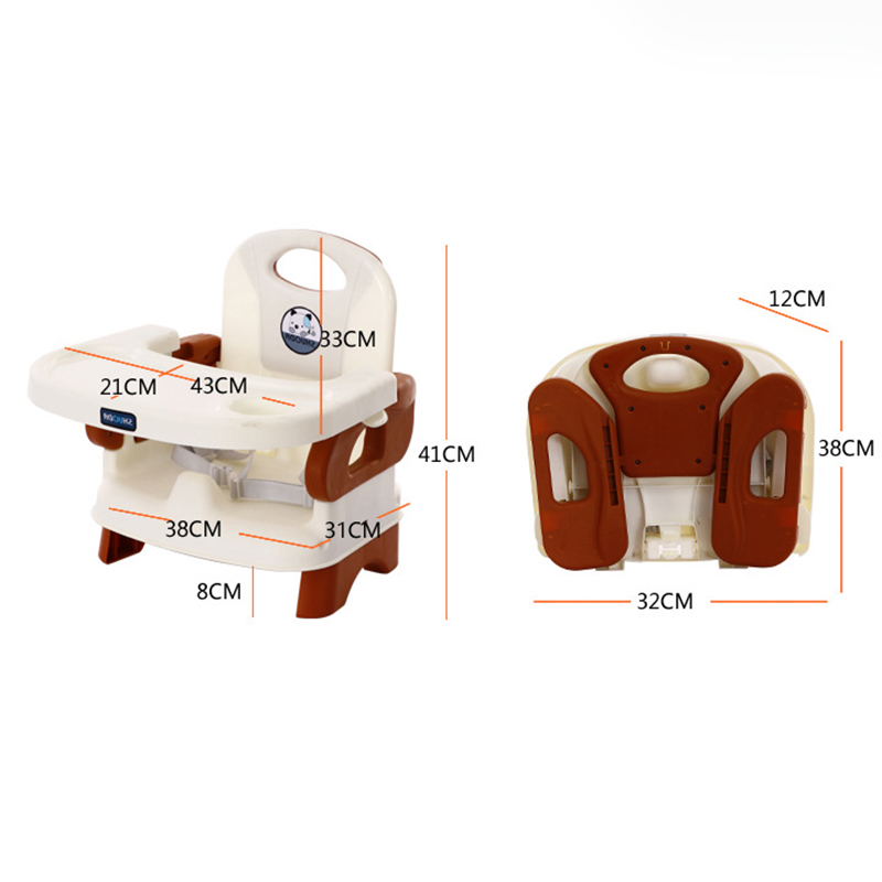 Baby Kids Folding Chairs Portable 6month To 4 Year Infant Portable Toddler Feeding Eating High Chair For Kids Seat Nest Children