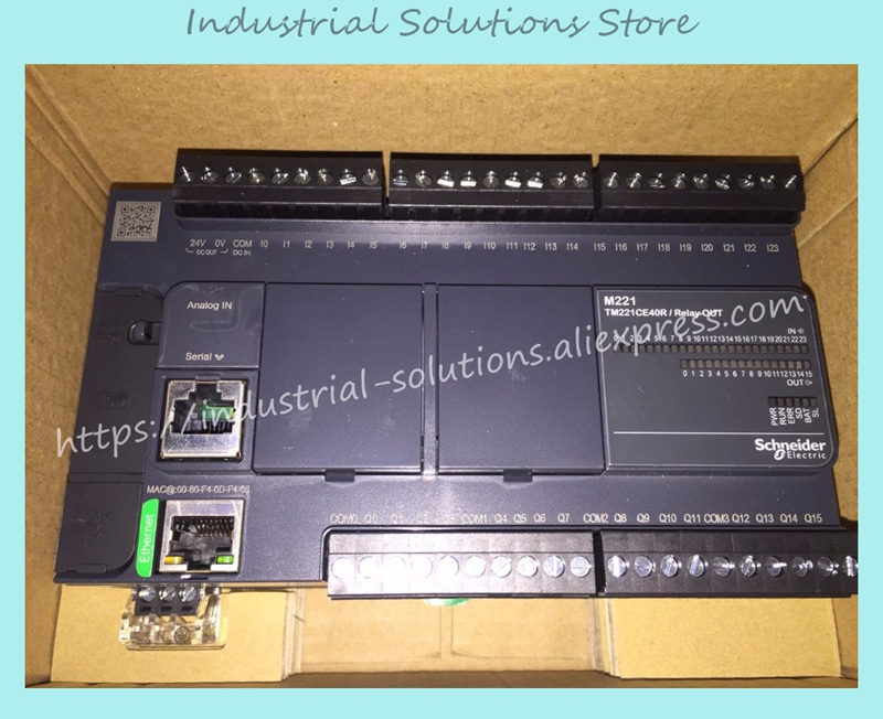 все цены на New Original PLC Module TM221CE40R онлайн