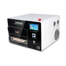 Máquina de Reparación de LCD Táctil Tiempos de Actualización Más Reciente 5 en 1 Vacío OCA Máquina de Laminación con Pantalla Táctil, Bomba incorporada + Compresor