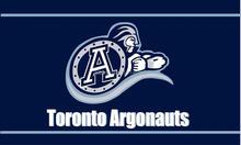 Toronto Argonauts Flag 150X90CM CFL 3X5FT Banner 100D Polyester grommets custom009, free shipping