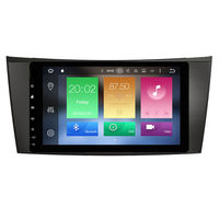 8 quad core Android 9.0 Car GPS radio Navigation for Benz E class W211 CLS Class W219 CLK Class W209