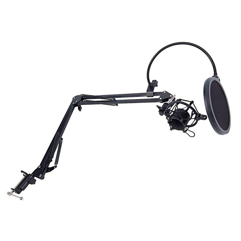 NB-35 microfone scissor braço suporte e mesa