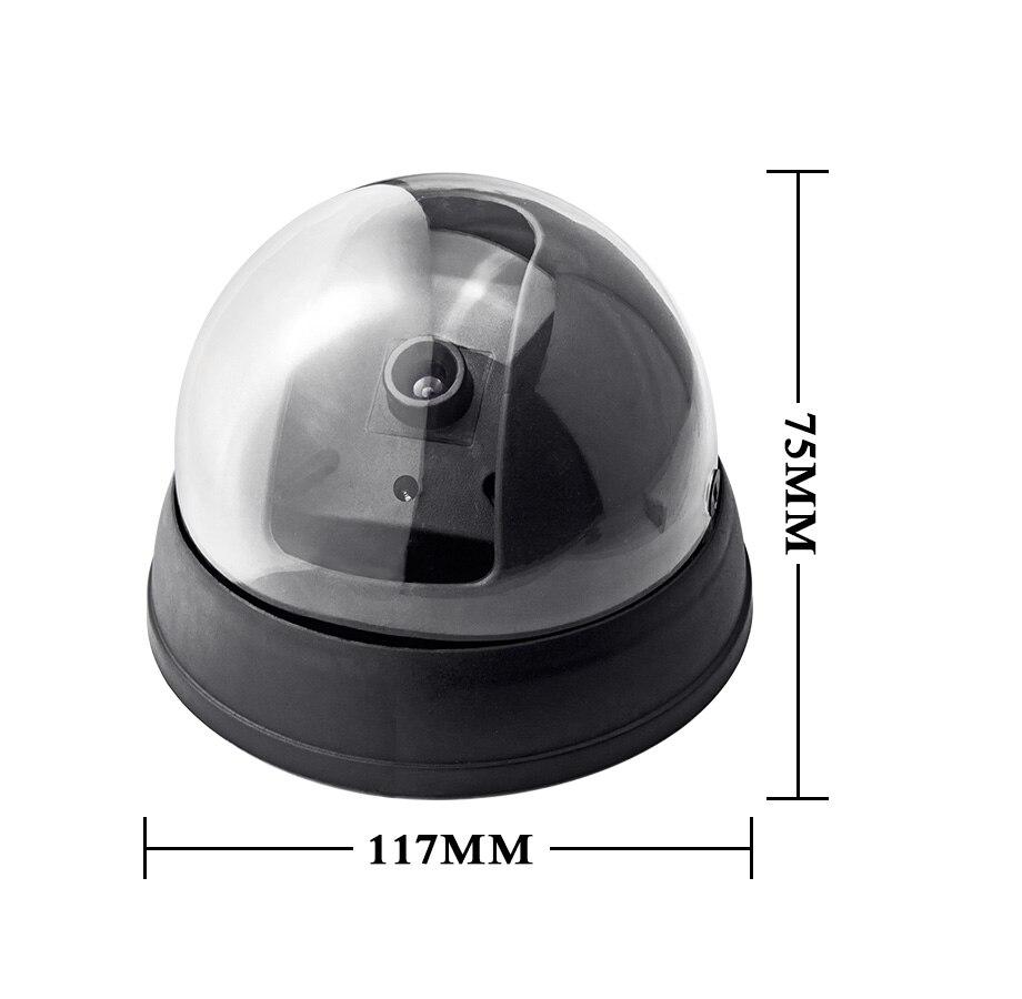 Wireless Home Security Fake Camera Surveillance indooroutdoor Waterproof IR CCTV Dummy Dome fake Surveillance security camera-4