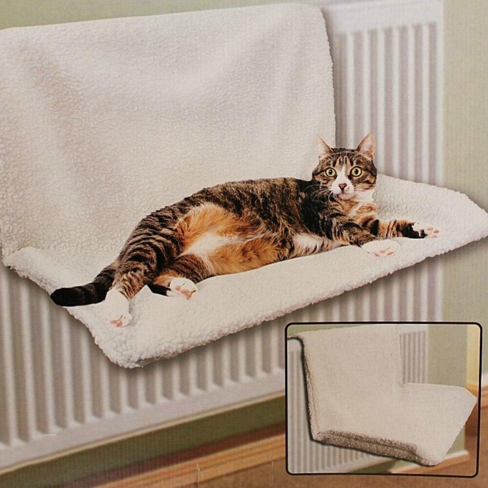Fleece Cats Warm Bed Hammock Wall Hanging Pet Rest Sleeping Beds