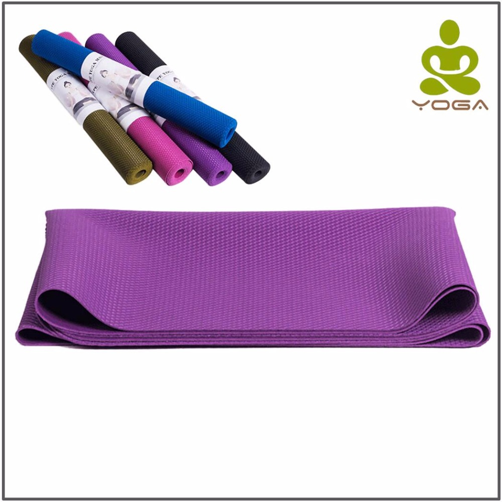 2MM Natural Rubber Non-slip Foldable Yoga Mats For Fitness Tasteless Brand Pilates 4 Color Gym Exercise Sport with Yoga Bag drop ship 6mm tpe non slip yoga mats for fitness tasteless brand pilates mat gym exercise sport mats pads yoga strap