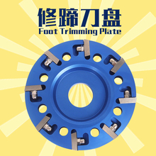 with 8pcs Cutter Head Animal Hoof Trimmer Hooves Disk for Cow/Horse/Cattle/Goat