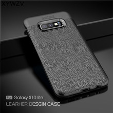 For Phone Case Samsung Galaxy S10 Lite Luxury Rubber for Back Cover