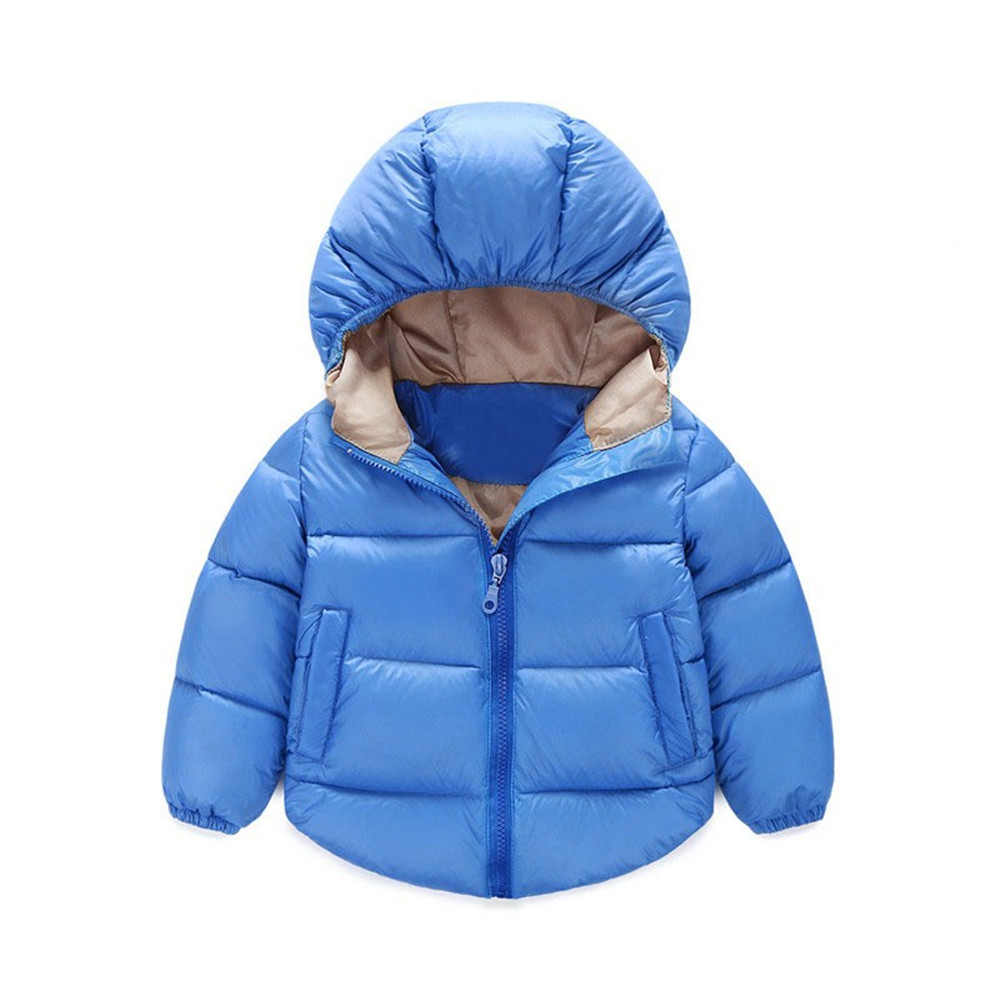 Boys Winter Jacket Children's Outerwear Girls Winter Coat Baby Boy Padded Coat Down Cotton Kids Boys Parka Baby Costumes 12M-6T