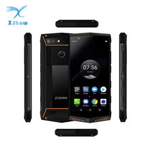 Teléfono Móvil Poptel P60 IP68 impermeable de 5,7 pulgadas FHD Helio P23 octa-core teléfono móvil 5000mAh 6GB 128GB táctil Android