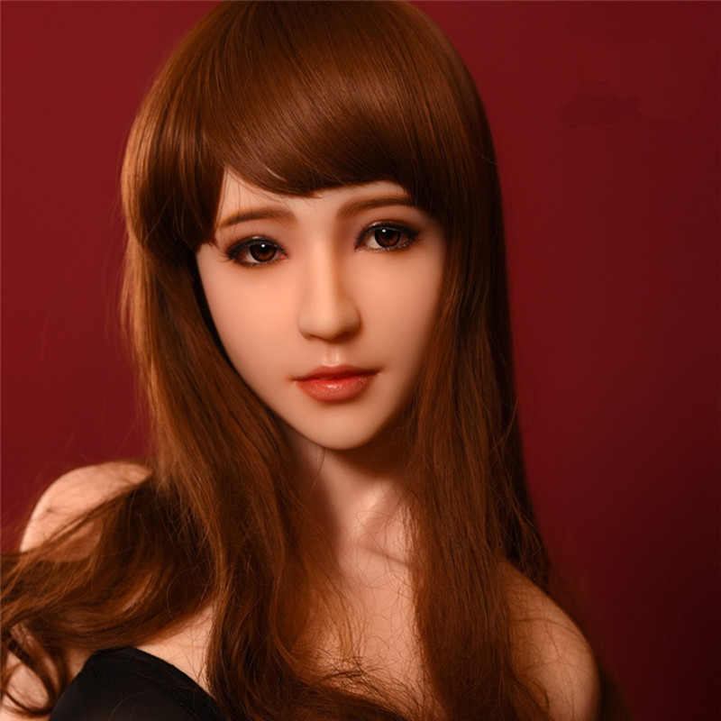 Real Silicone Doll Head For EX(DS) Love Doll Silicone Adult Dolls Heads Good Quality Pure Silicone Mannequins Head Sex Products